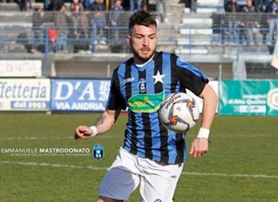 Bisceglie calcio, malore a fine gara per David Biancola