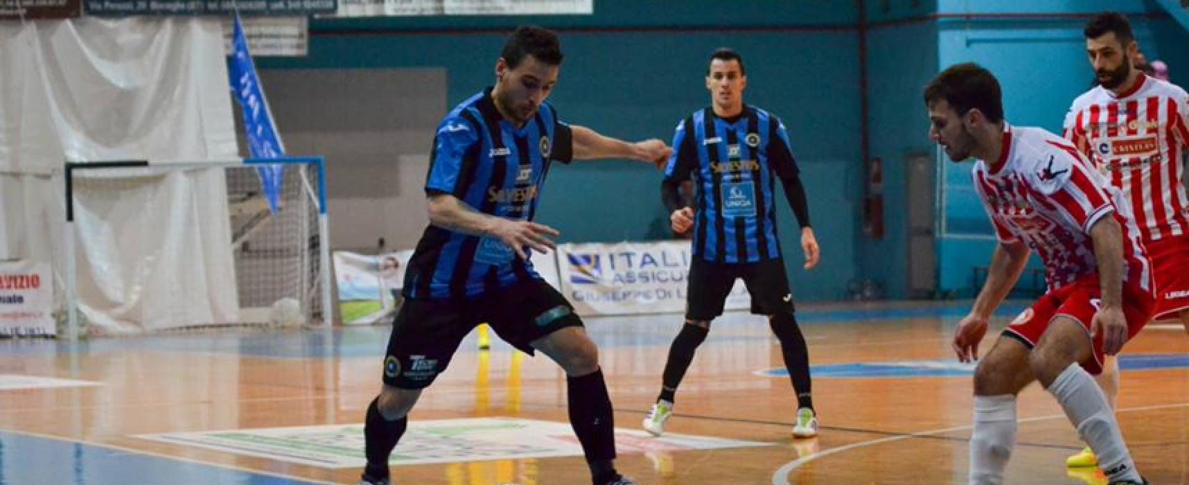 Futsal Bisceglie, Sicilia ancora indigesta. Il Meta si impone per 4-1