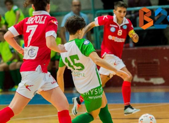 Arcadia sfiora l'impresa a Napoli, Futsal Bisceglie battuta in casa dal Fasano / CLASSIFICA