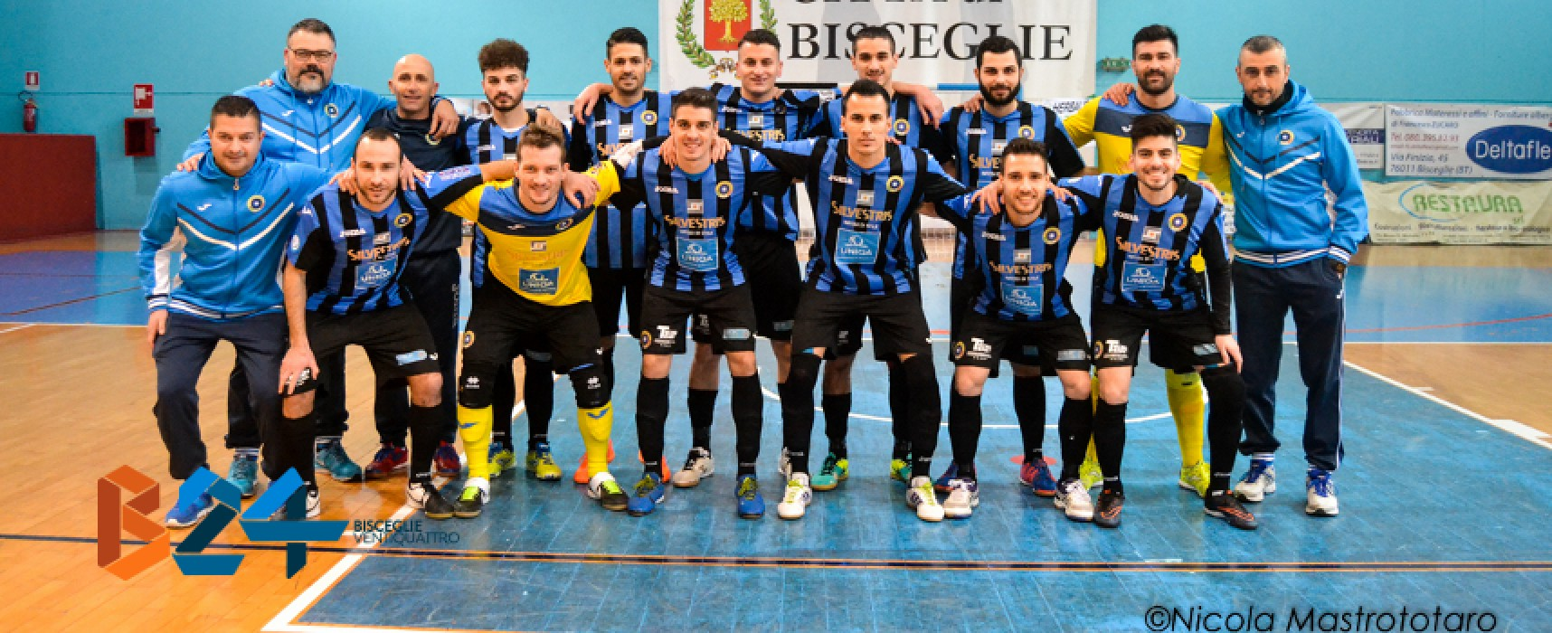 Diretta Live: Futsal Cisternino-Futsal Bisceglie 4-4 FINALE