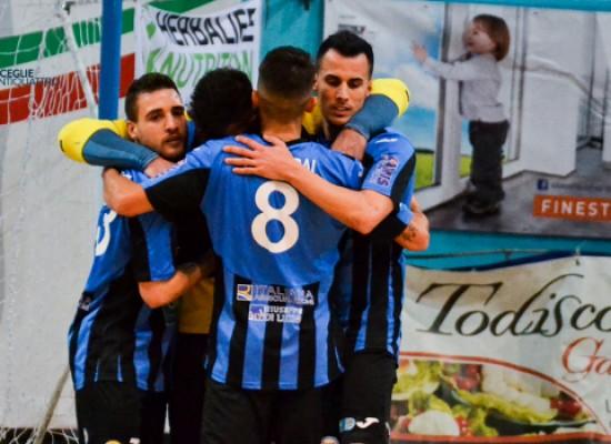 Futsal Bisceglie, tre punti pesantissimi contro la Virtus Noicattaro