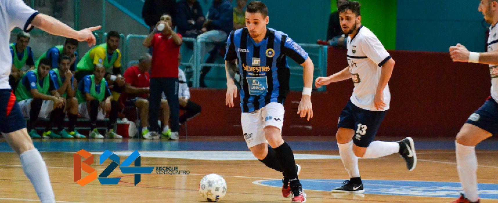 Insidia Meta C5 sul cammino del Futsal Bisceglie