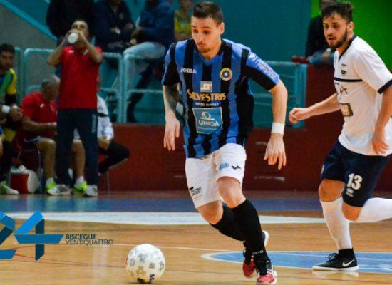 Futsal Bisceglie sconfitto di misura a Montesilvano dal Real Dem