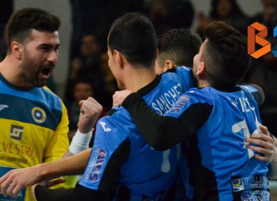 Futsal Bisceglie-Virtus Noicattaro 2-0 FINALE
