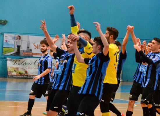 Il Futsal Bisceglie passeggia sui resti del Matera