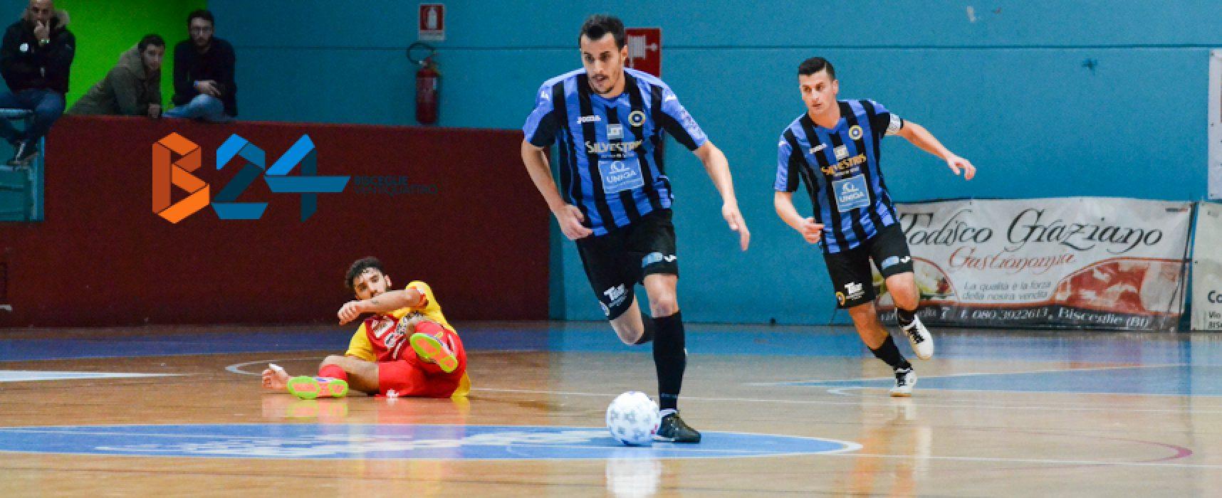 Il fenomeno Sanchez lascia il Futsal Bisceglie per la Sicilia