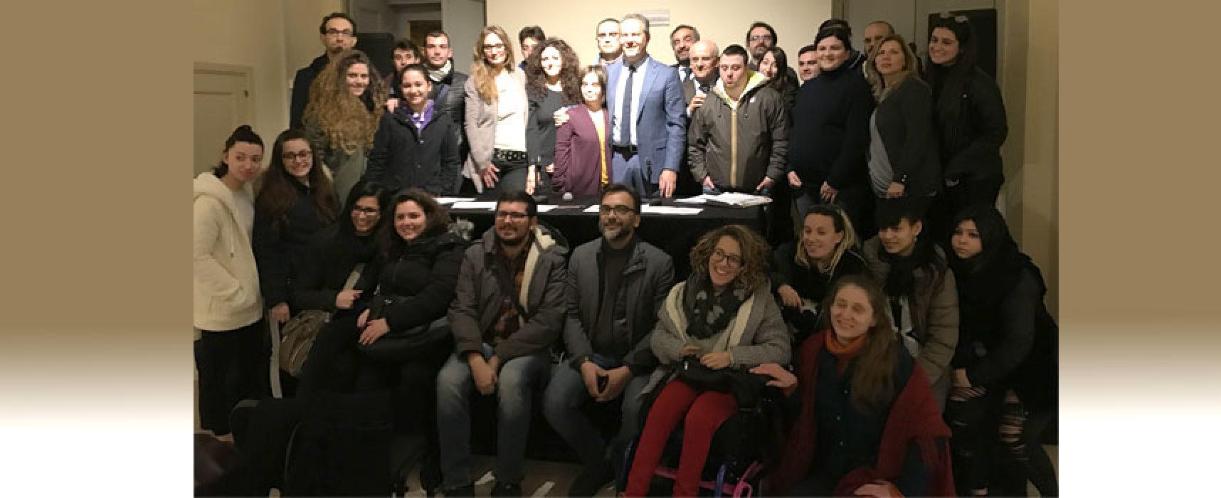 Inclusione, partono i cantieri sociali con 45 giovani biscegliesi