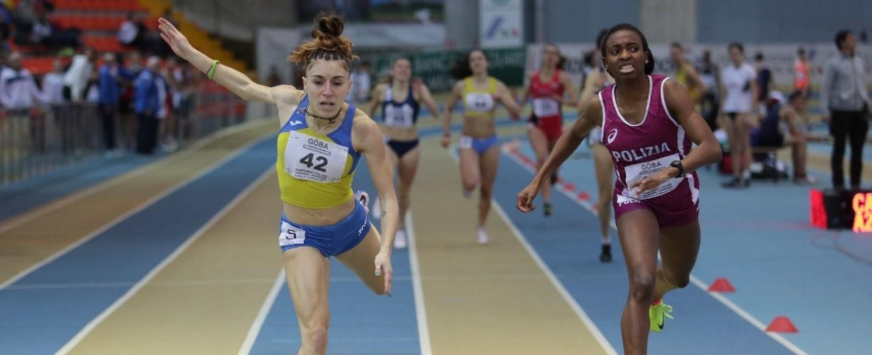 Lucia Pasquale, dopo l'argento agli Assoluti Indoor ecco la convocazione in nazionale