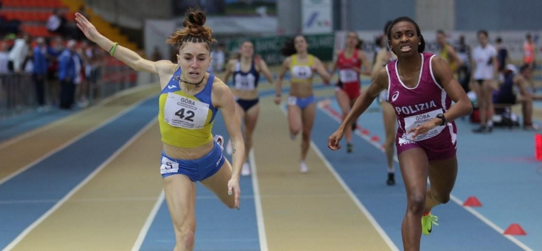 Lucia Pasquale è campionessa italiana Promesse Indoor