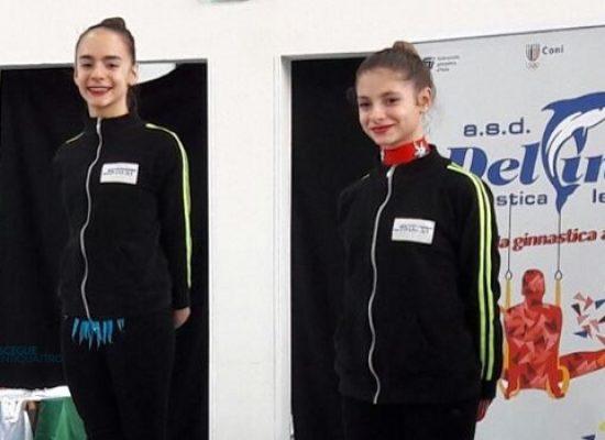 Ginnastica Ritmica Iris: tutte a podio le cinque ginnaste biscegliesi in gara a Lecce / RISULTATI