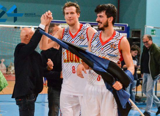 Lions basket Bisceglie, netta affermazione casalinga nel derby con San Severo /FOTO