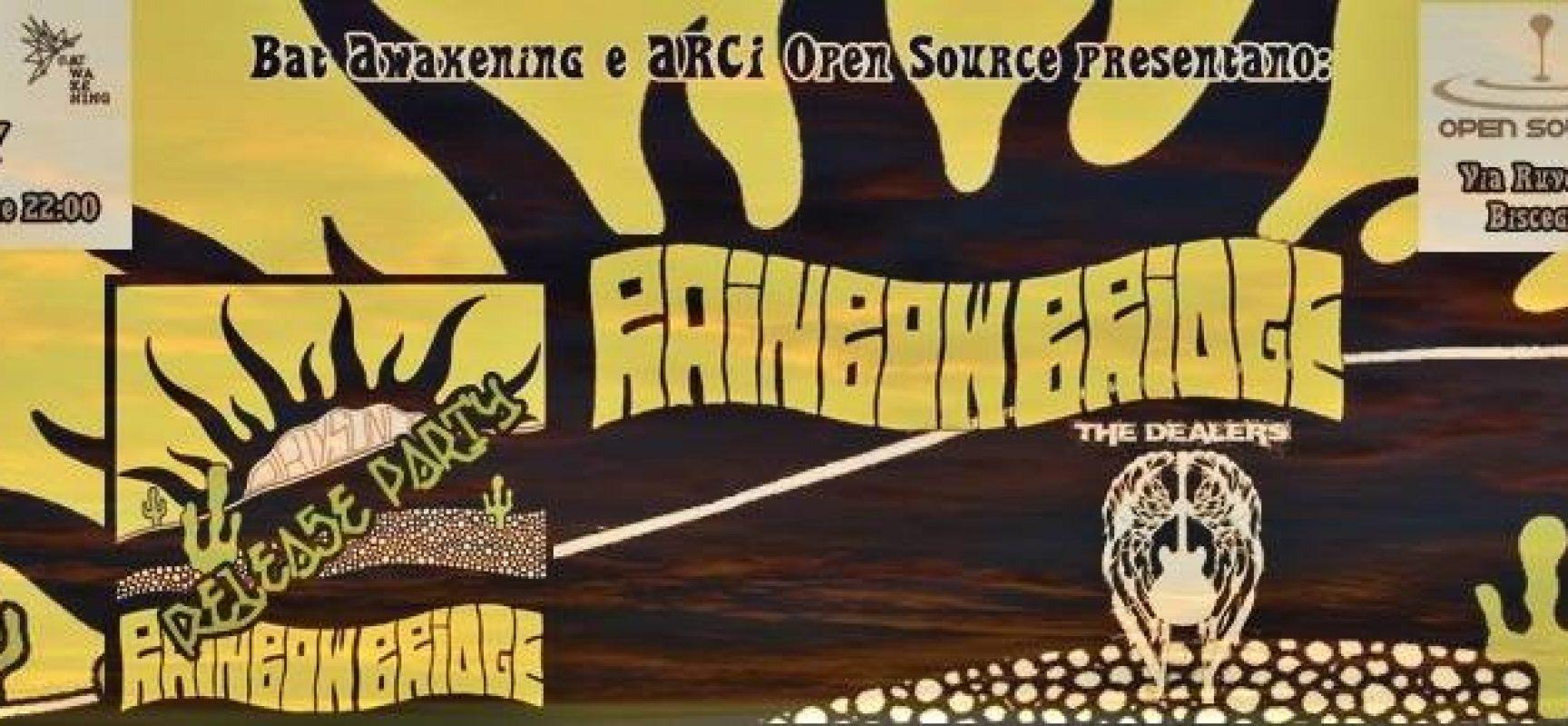 Bat Awakening festeggia il secondo anno di attività con i Rainbow Bridge e i The Dealers