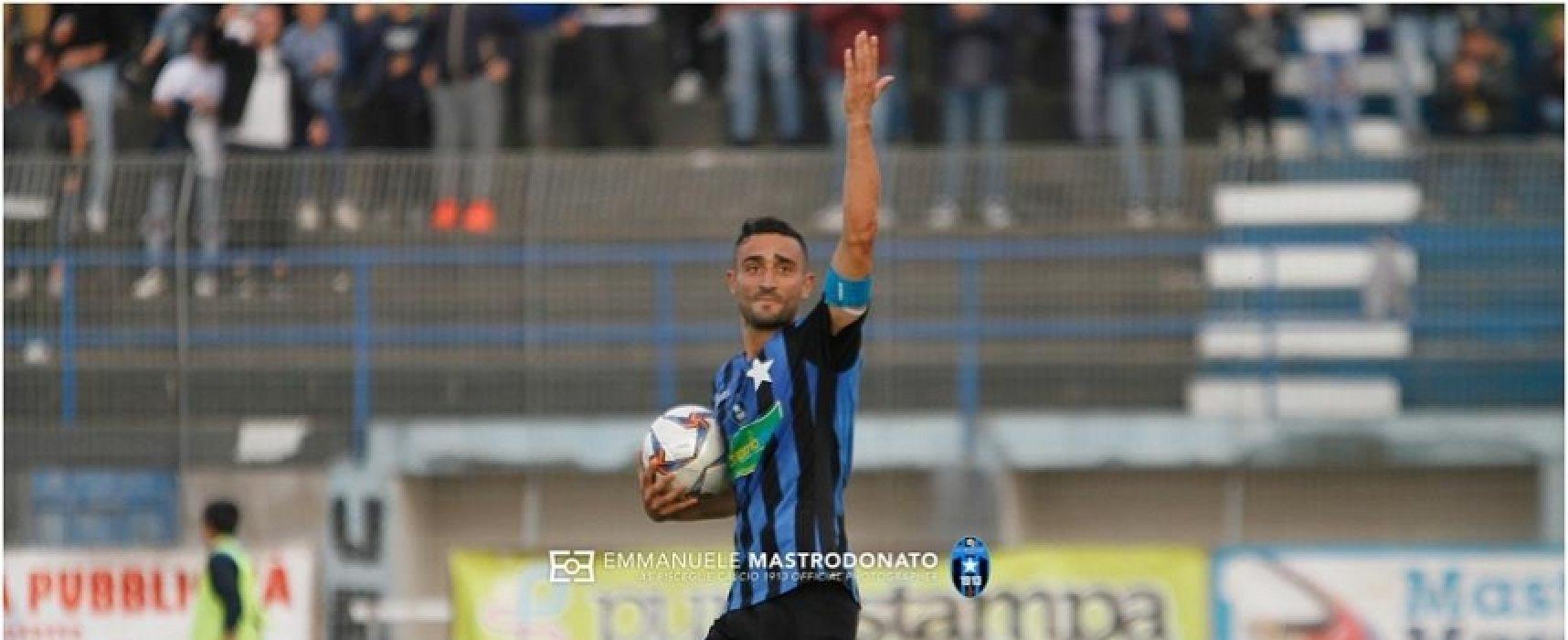 Bisceglie Calcio, con l'Agropoli tre punti per festeggiare la promozione in Lega Pro