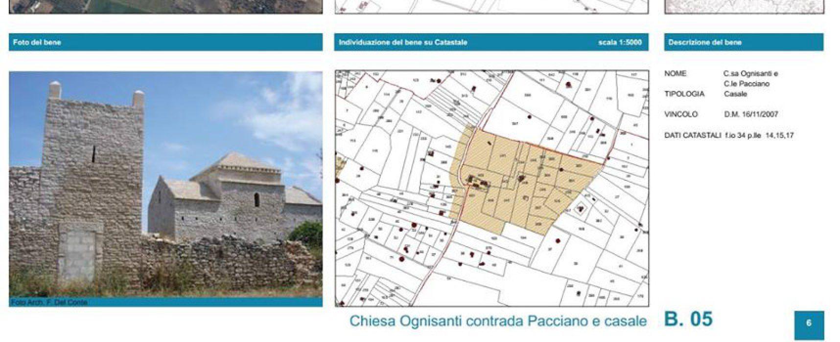 Tutela beni paesaggistici, la Regione approva la proposta del comune di Bisceglie
