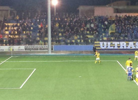 L'Unione Calcio regge per un tempo poi cede al Cerignola: azzurri al secondo stop consecutivo