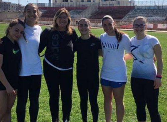 """Tre studentesse del """"Dell'Olio"""" di Bisceglie alla fase regionale campionati studenteschi di atletica leggera"""