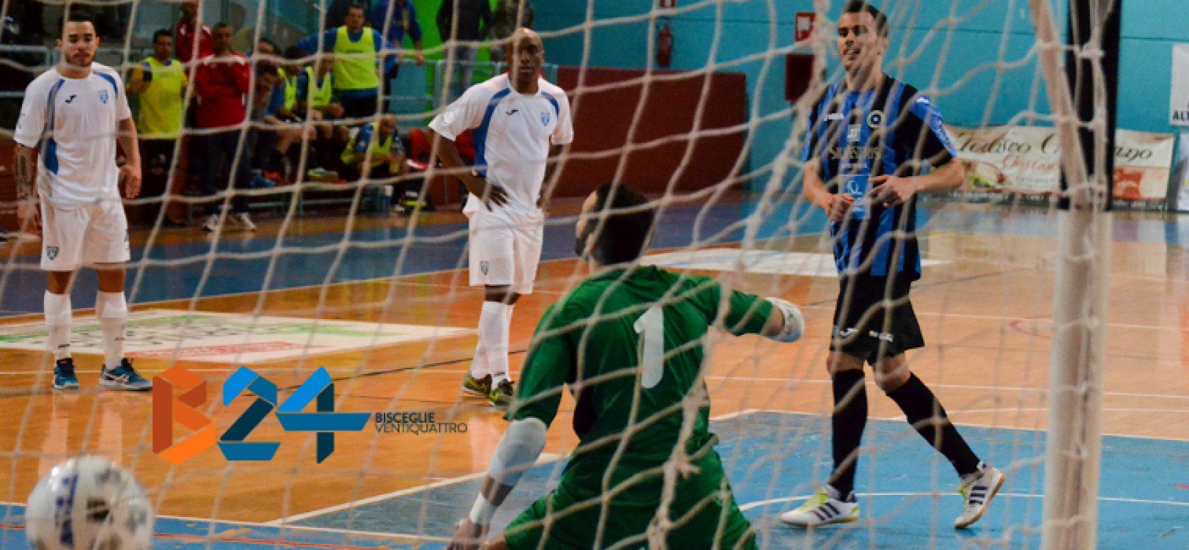 Il Futsal Bisceglie chiude il campionato con la trasferta in casa del Real Dem