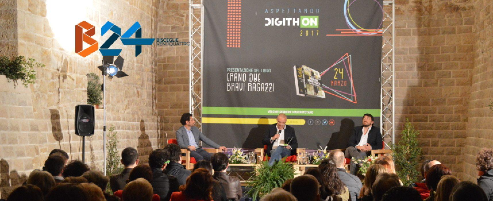 """Aspettando Digithon, Giuramento e Scalia raccontano Napoli, la camorra e """"due bravi ragazzi"""" / FOTO"""