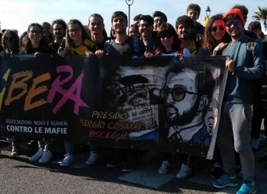 Anche Bisceglie presente a Locri alla marcia nazionale contro tutte le mafie / FOTO