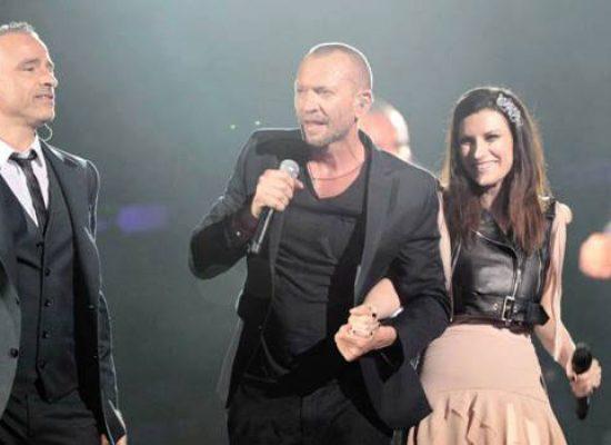 La musica di Laura Pausini, Biagio Antonacci ed Eros Ramazzotti a Trattopizza