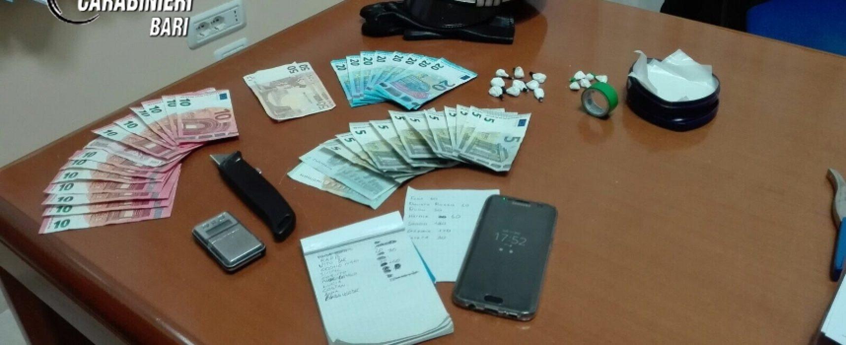 Coniugi incensurati biscegliesi arrestati per spaccio di cocaina