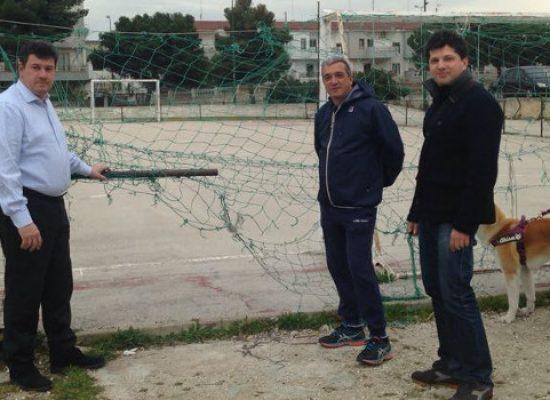 """Campetto di calcio Salnitro, Bisceglie2018: """"Quali sono i lavori effettuati?"""" / FOTO"""