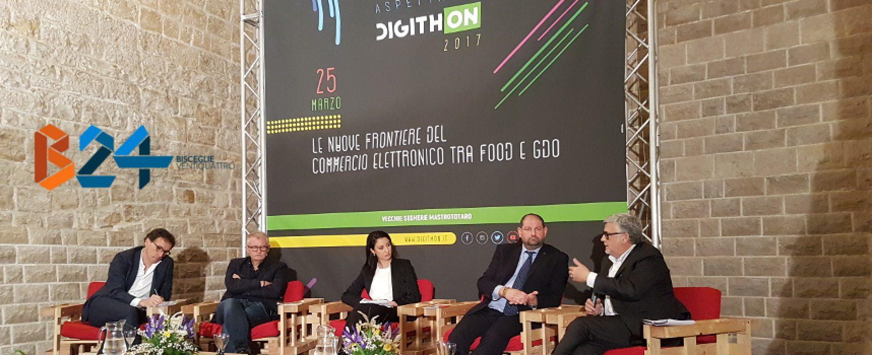 Aspettando DigithON, alle Segherie Mastrototaro dibattito sul commercio elettronico alimentare / VIDEO
