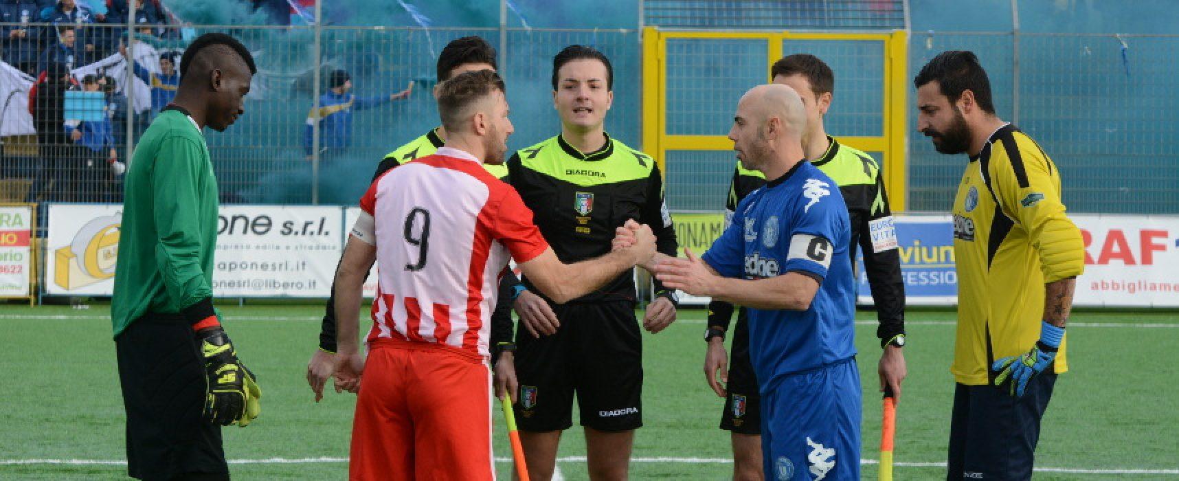 """Unione Calcio, al """"San Pio"""" il remake di Coppa contro l'Altamura"""