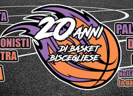 Venti anni di basket biscegliese, domenica festa al Paladolmen con tutti i protagonisti