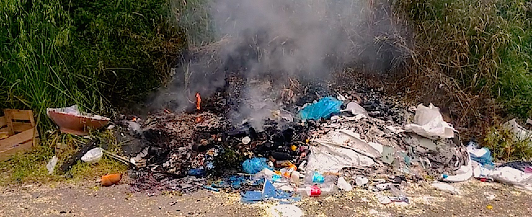 """Distesa di rifiuti complanare Bisceglie nord, Mauro Sasso: """"Situazione grave, qualcuno faccia passo indietro"""""""