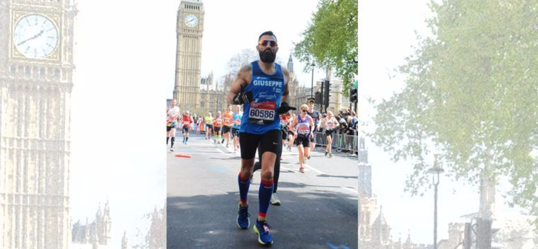 "Bisceglie Running, Giuseppe Ruggieri alla maratona di Londra: ""Emozioni indescrivibili"""