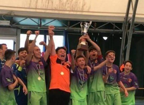 Calcio a 5, il Santos Club si aggiudica il titolo regionale giovanissimi