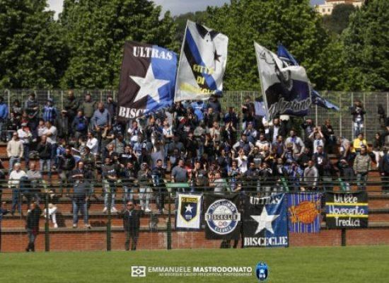 Coppa Italia serie D, multa e squalifiche in casa Bisceglie Calcio