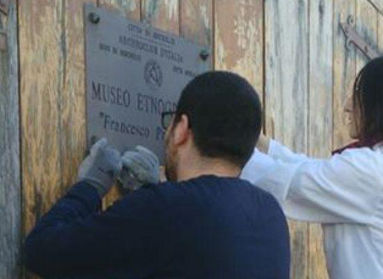 """""""Io lavoro to push up talents"""", completato il restauro del portone della Torre Normanna"""