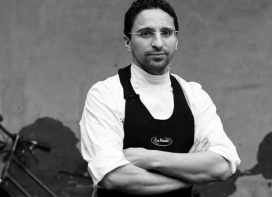 Lo chef Claudio Catino a Shanghai al seguito dello stellato Niko Romito per Bulgari
