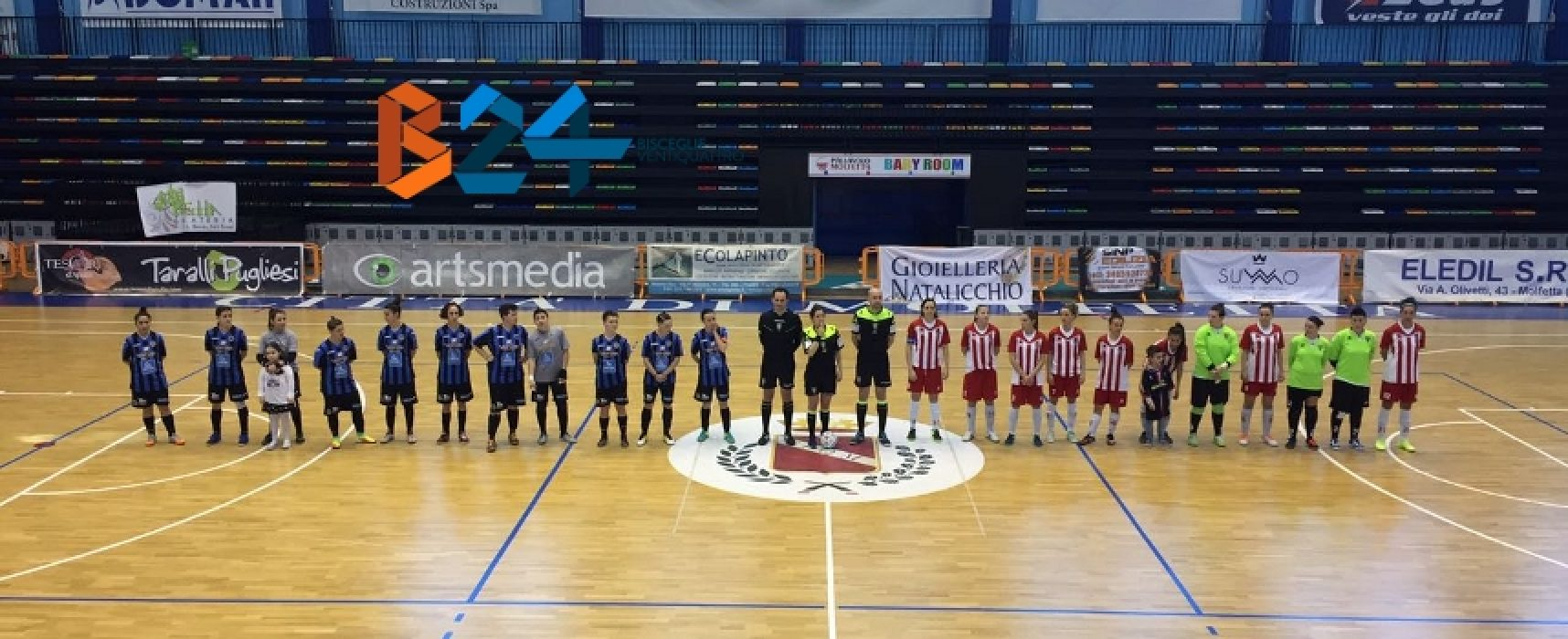 Speranze salvezza per Arcadia, euforia playoff per il Futsal Bisceglie / CLASSIFICHE
