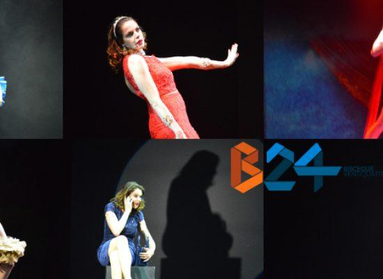 """VIDEO INTERVISTA / Claudia Gerini al Teatro Garibaldi con """"Storie di Claudia"""": """"Racconti che parlano di me"""""""