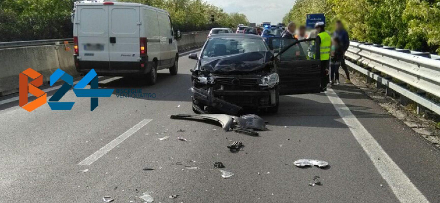 Incidente sulla statale 16, una persona al pronto soccorso