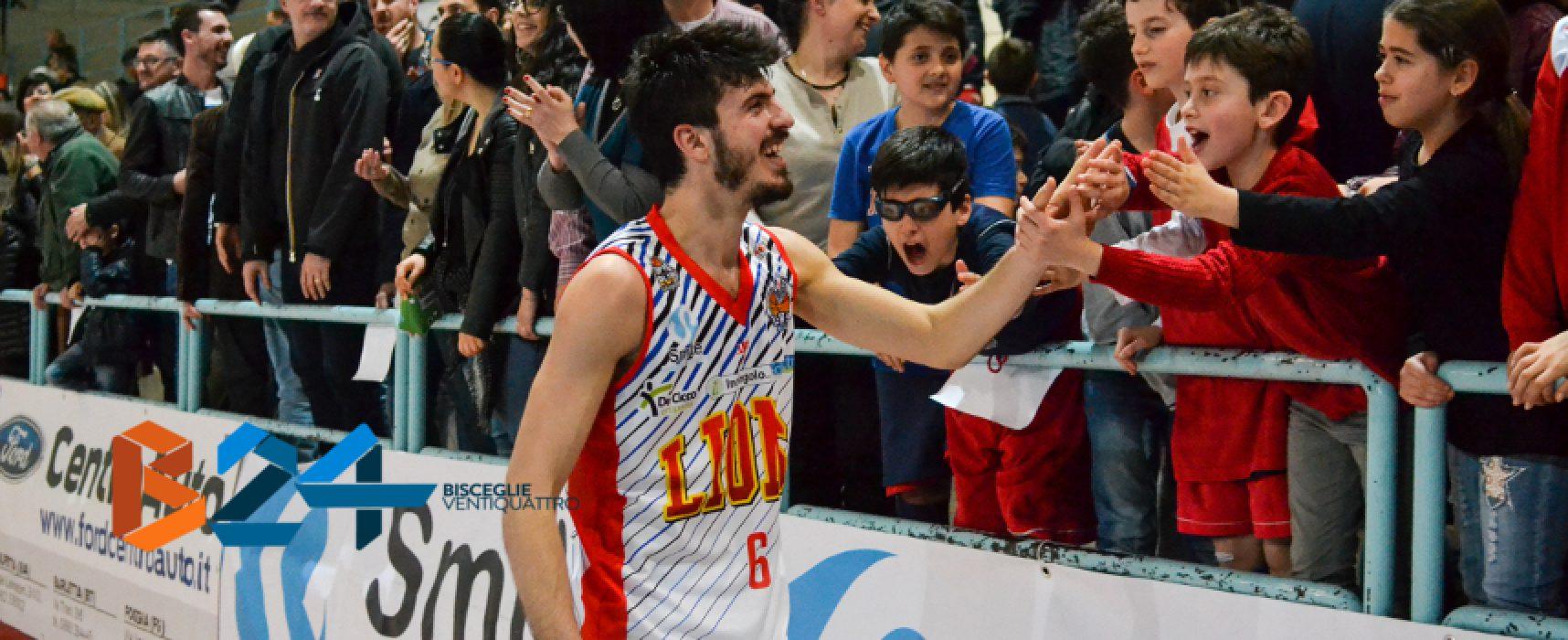 Lions Basket, vittoria al cardiopalma con Venafro e secondo posto blindato