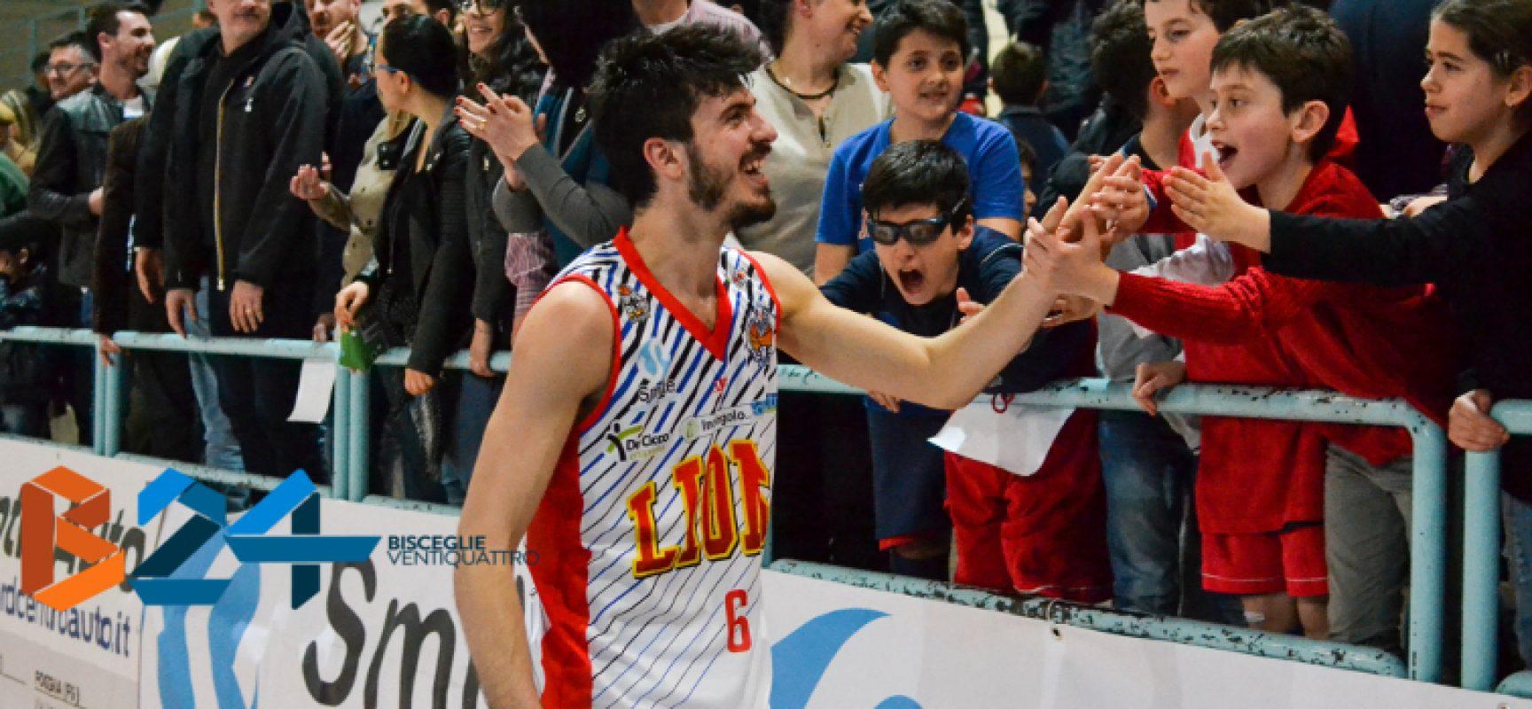 Lions Basket: vittoria contro Monteroni e secondo posto in classifica, ora i playoff