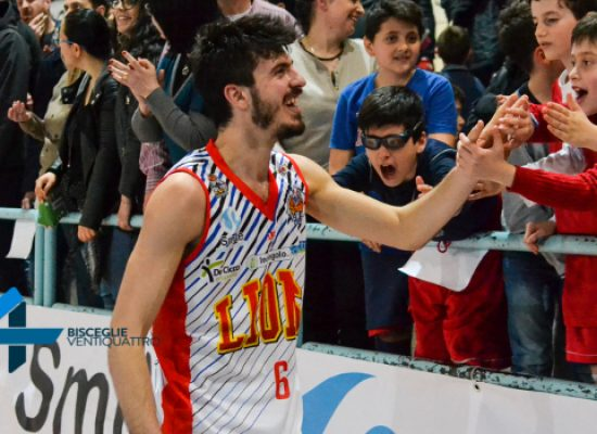 Lions Basket: vittoria contro Monteroni e secondo posto in classifica, ora i playoff