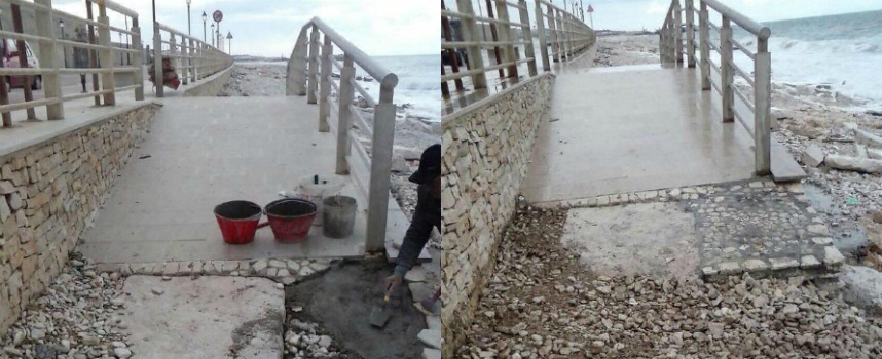 """Rampa spiaggia BiMarmi, signora disabile: """"Grazie al sindaco e all'amministrazione"""""""