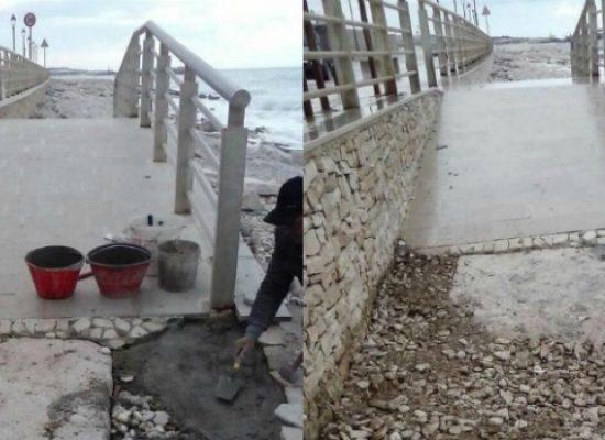 Spiaggia Bimarmi, rampa aggiustata dopo lettera disabile al sindaco