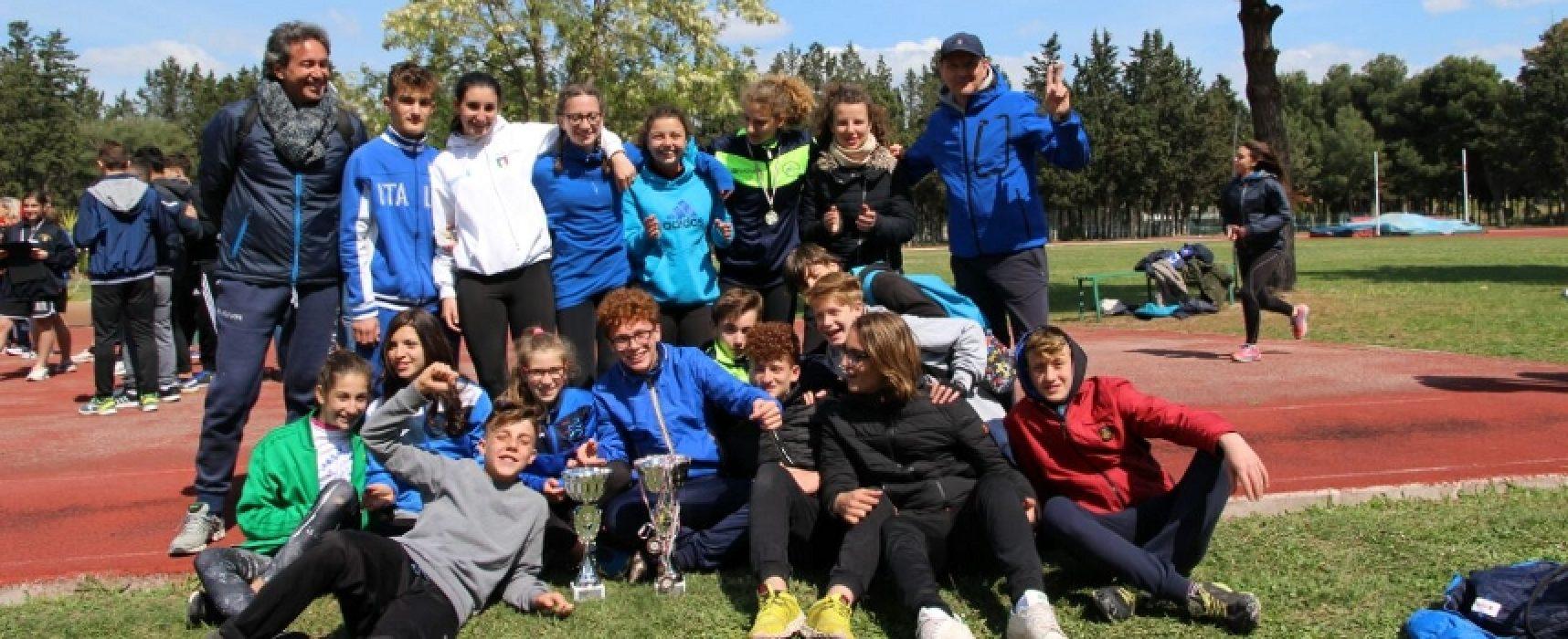 Campionati Studenteschi di atletica leggera, grandi risultati per la Battisti-Ferraris