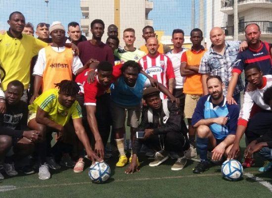 Primo torneo di calcio a 5 multiculturale promosso dalla cooperativa sociale Oasi 2