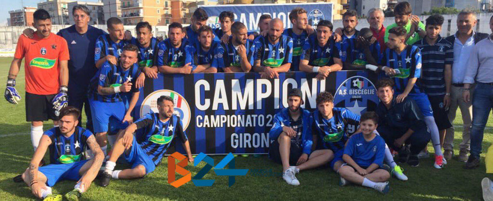 Bisceglie Calcio, la festa continua: 1-1 contro la Sicula Leonzio e passaggio alla fase finale della poule scudetto
