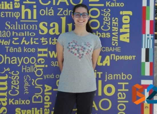 """Valeria Tedone  dell'Iiss """"Dell'Olio"""" unica italiana ammessa al soggiorno studio negli Usa"""