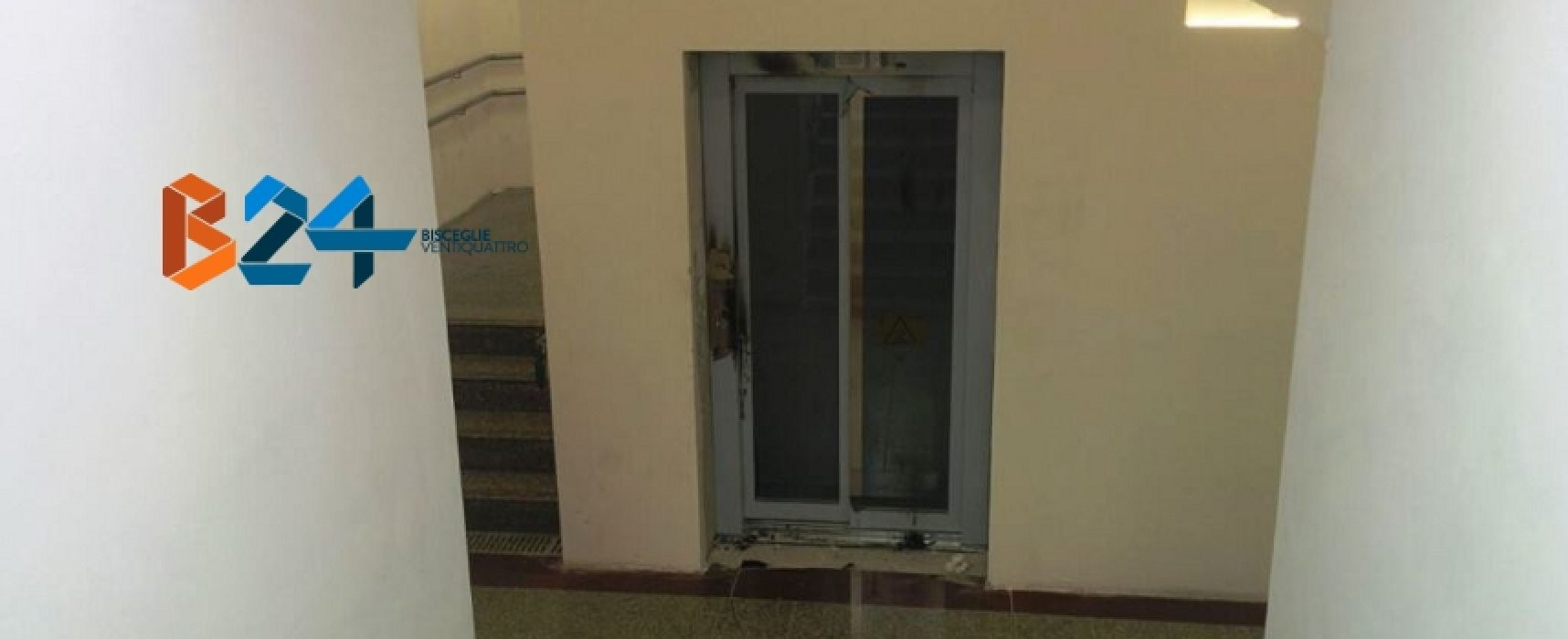 Vandali danneggiano ascensore sottopassaggio della stazione ferroviaria / FOTO