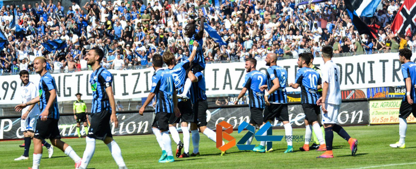 Poule Scudetto serie D: Bisceglie calcio nel girone 3 con Arzachena e Sicula Leonzio