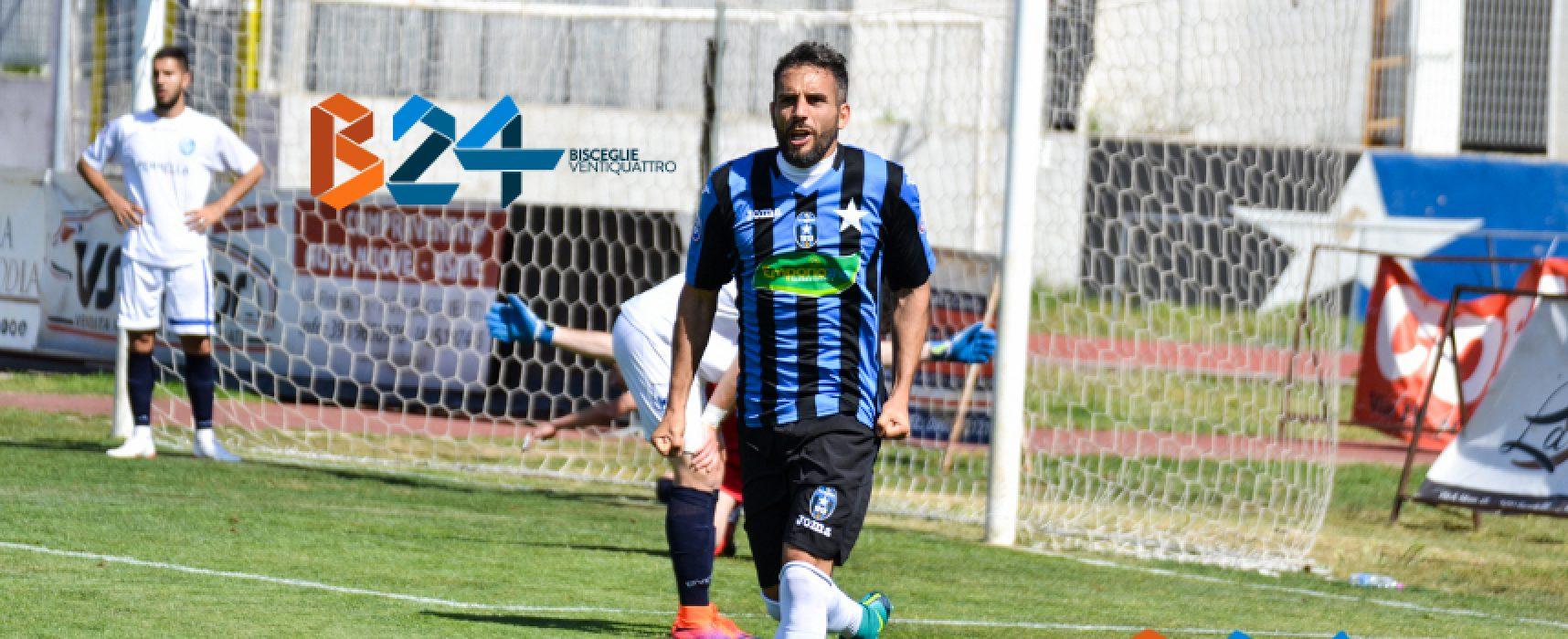 Poule Scudetto serie D: Montaldi-Petta ed il Bisceglie calcio vince ad Arzachena